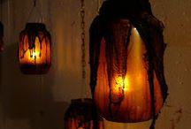 Halloween kynttilälyhdyt