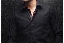 AU NOIR new raphael / The AU NOIR highest quality men's dress shirts. Find them at www.mensdressshirts.ca