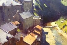 Inspiring landscape paintings
