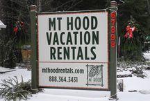 Mt Hood Vacation Rentals Snow Pics / We love winter snow around here.