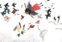 Birds / Drawings from Miriam Bouwens www.miriambouwens.blogspot.com