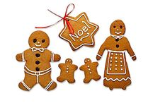 Christmas gingerbread / A few ideas for when our foodie group gets together to ice some gingerbread.