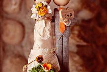 Wedding Cake Toppers- Muñecos tarta de boda