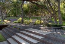 {Landscape} steps