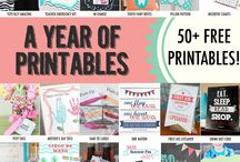 Free Printables and Fonts / by Krysten