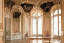 Beautifully elegant ballrooms or Drawing Rooms