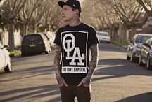 THE AMITY AFFLICTION / The Amity Affliction. This is one of my favourite bands.  My brother told me about them when I was younger so I looked them up and since then they have been in my top 10 favourite bands, though I rarely listen any other to Post-Hardcore bands.    Official Site- http://www.theamityaffliction.net/ Wiki- http://en.wikipedia.org/wiki/The_Amity_Affliction