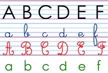 Alphabet frise