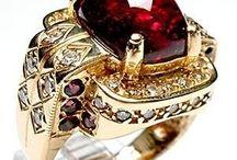 Tourmaline, Rubellite / Rubellite Tourmaline Rings & Jewelry