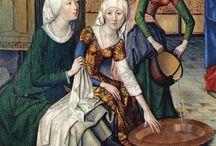 odívání - středověk