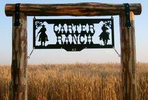 kapu ívek, ranch sign