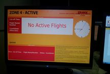 DHL Bahrain / DHL needed a system which could direct employees to the next plane which required unloading and a countdown timer to ensure they were aware of how much time remained to complete the unloading. ONELAN's partner LamasaTech achieved this solution by integrating ONELAN's digital signage solution with the live flight data and producing intelligent content.