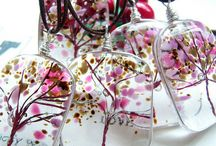 Trees and Forests (Fused glass) / Trees and Forests, from Fused glass, or ideas for the same