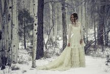 Winter Fashion / Inspiration for wintery/snowy fashion photography