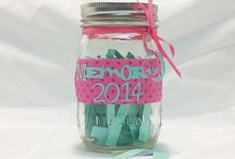 Mason Jars / I love the Mason Jars and the wonderful Ideas that people have and share.