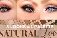 Too faced natural love pallet looks