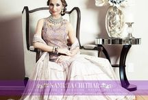 """Namrita Chettiar: Indian Weddings magazine Preferred Vendor / Namrita's global design sensibility, a culturally rich inheritance & a strong design background led to the birth of """"Namrita Chettiar"""" Label. A line of timeless Wedding & Special occasion Couture. Raised amid the opulent fabrics and rich colors of her grandfather's distinguished Indian atelier, this young fashionista brings a fresh approach to traditional Indian couture. You can contact her at namrita@namritachettiar.com or 408.761.8678 http://namritachettiar.com/"""