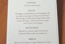 menu para festas