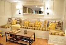 basement ideas / by Lisa Hoersten