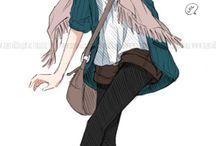 anime / girl