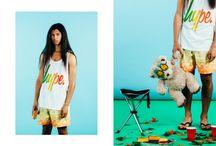 HYPE x TOPMAN / La fameuse marque anglaise HYPE. s'associe au géant Topman et propose des modèles exclusifs. On reconnait la signature colorée et imprimée très Hype. Inspiration Jungle/Afrique pour ce vestiaire complet ! http://lesgarconsenligne.com/2014/06/09/hype-x-topman/