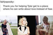 Jenna Joseph and Juliet simms / This is a board all about Juliet Simms, Andy Biersacks' wife and Jenna Joseph, Tyler Joseph's wife! I hope you like this board!