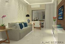 Projetando / Projetos de arquitetura de interiores por Aline Bezerra Arquitetura