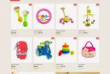 Kids'n'toys website design