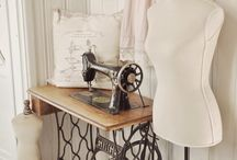 vintage sewing place