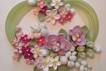 クイリング:花いっぱい