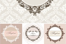 Frames, borders.. / Vintage, baroque, chevron frames, borders and ideas for inspiration..