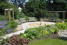 Työpaikan puutarha