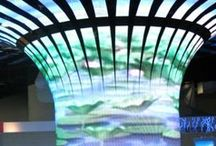 LED Video Wall / nvsledwall.com provides latest technology LED screen and LED video wall which is use for Displaying videos, live TV, on dance floor and outdoor led video wall for advertisement in India / by manish