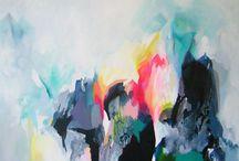 inspirational abstract art