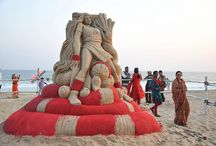 Sand Art At Puri