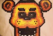 five nights at Freddys hama beads
