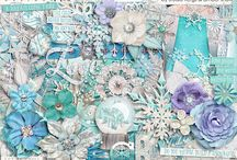 #believeinmagic: ICE MAGIC / This beautiful Frozen inspired digital scrapbooking collection is available here http://www.sweetshoppedesigns.com/sweetshoppe/product.php?productid=32361&cat=619&page=1