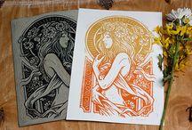 Design, Art, and Illustration In·spi·ra·tion