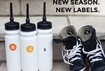 Mabel's Labels | Sports, recreation & extracurriculars / Ideas for parents who have a kid in sports and activities. Keeping all of that gear organized and out of the lost and found.