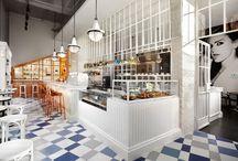 Restaurant and Retail Interiors