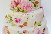 MWF | Hand painted cakes