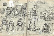 Inspiring sketchbooks and moleskins / Some really inspiring pages from other artists sketchbooks.