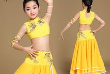 Bollywood dance costumes