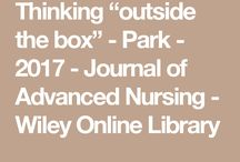 Park's Research Articles / Up-to-date Nursing (Workforce) Research Articles Collection