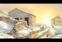 Watercolour Tutorials Winter/Snow