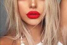 Blonde hAir make up