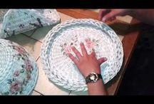 Pletenie z papiera - videa