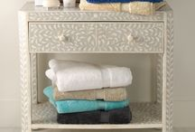 For The Bath / Simple ways to organize our bathrooms without sacrificing style.