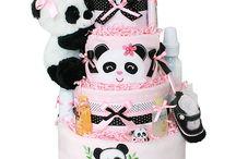 baby shower panda niña