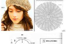 czapki, berety